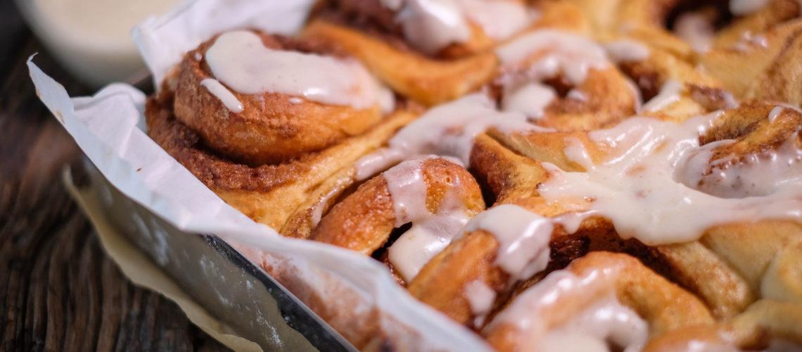 Cinnamon Roll Zimtrolle Zuckerguss