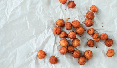 Geröstete Kichererbsen roasted chickpeas Rezept
