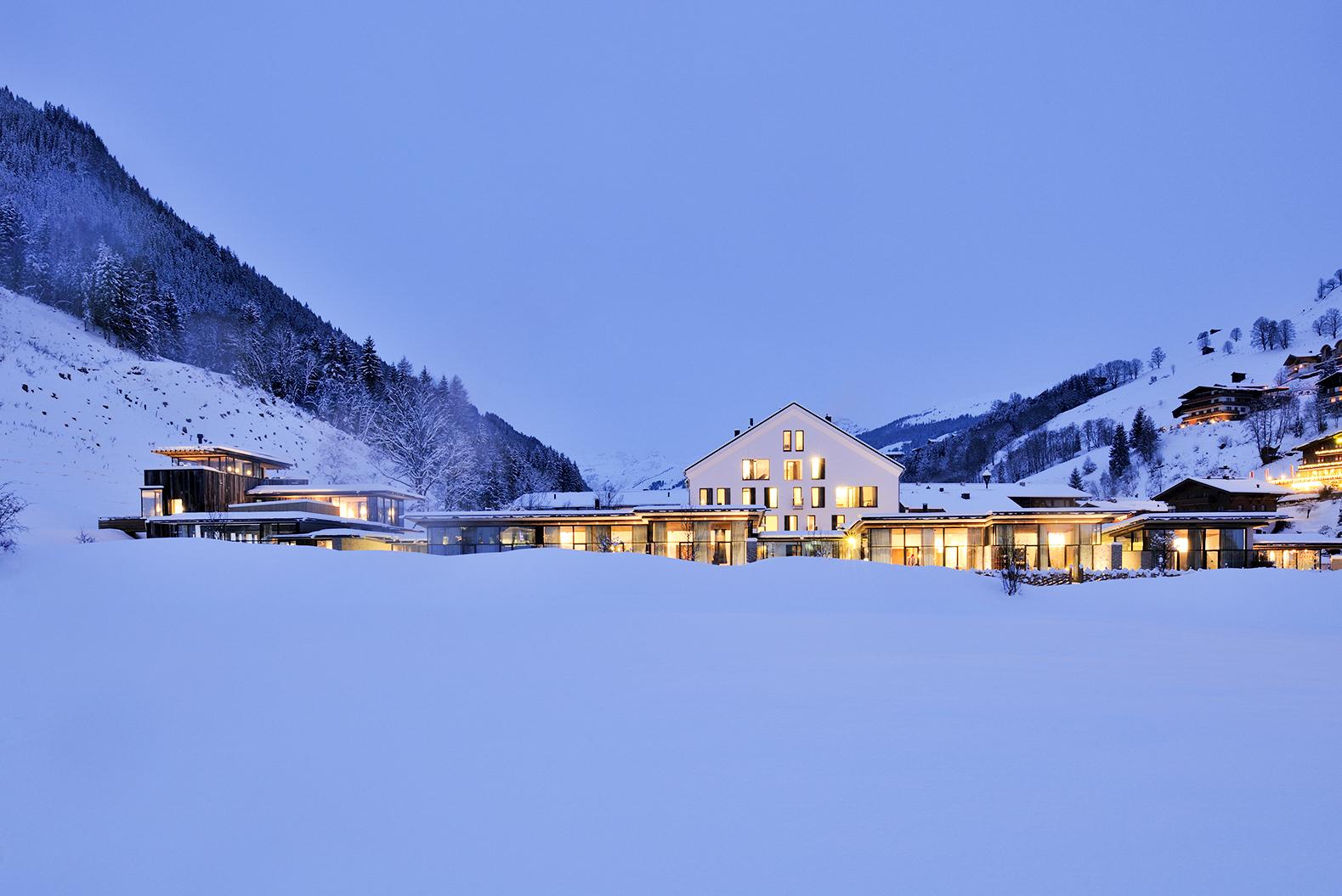 das Design Hotel Wiesergut in Hinterglemm