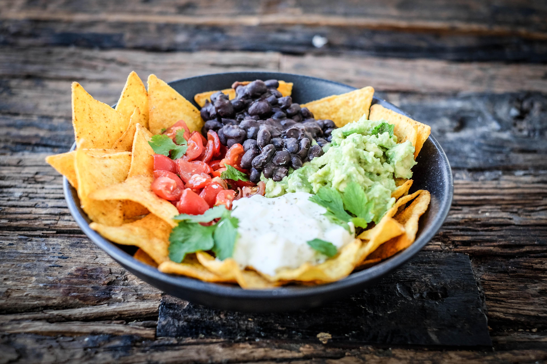 Movie Night Filme Snacks Nachos Tacos Chips