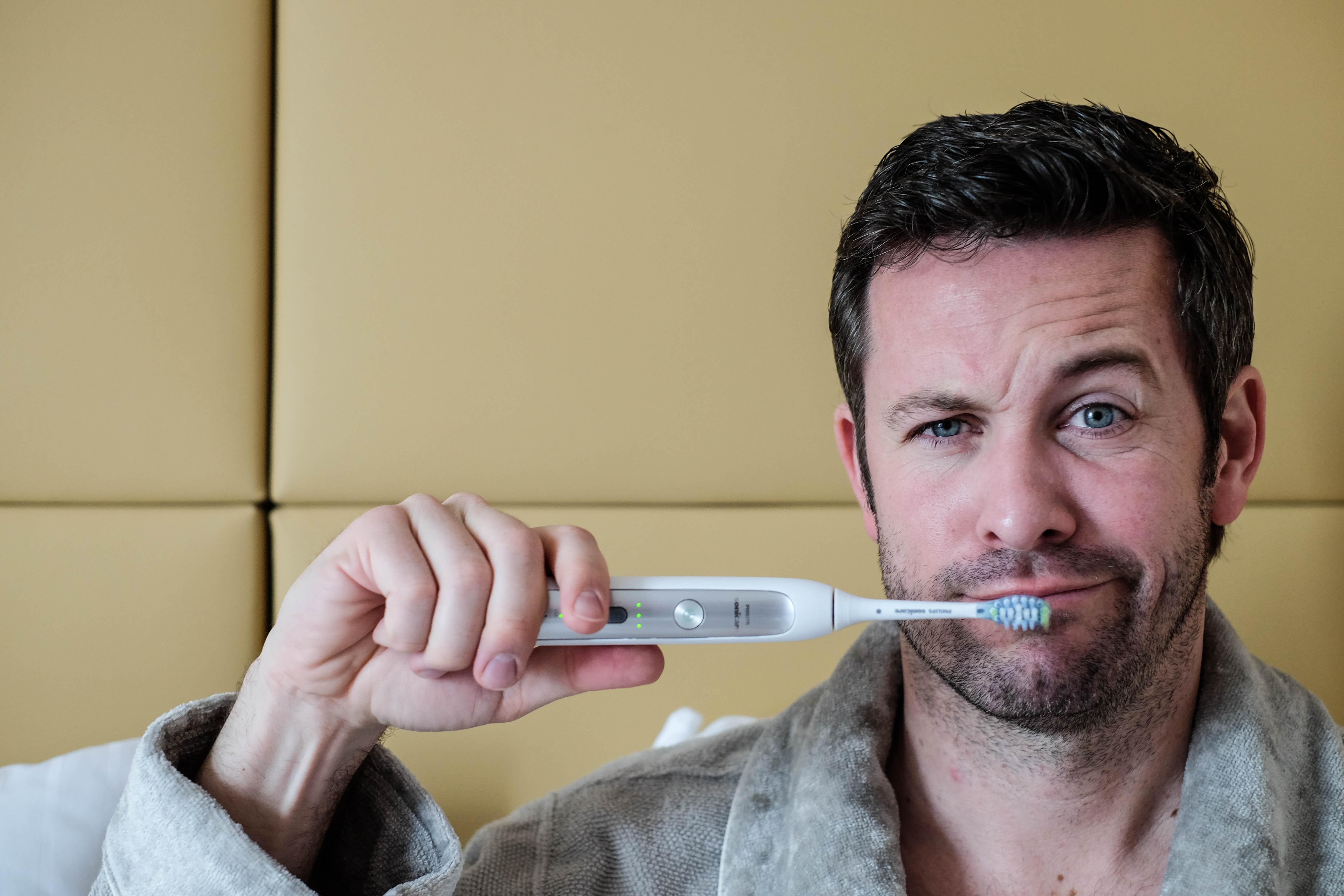 Philips Sonicare Schallzahnbürste Zähne Putzen Zahnpflege