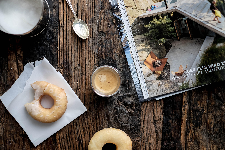 Donuts Frühstück Kaffee