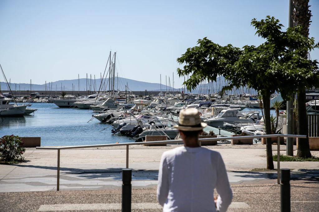 Hafen von Alghero, Sardinien
