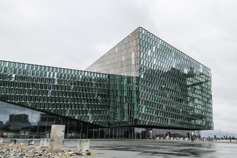 Reykjavik Harpa Hafen