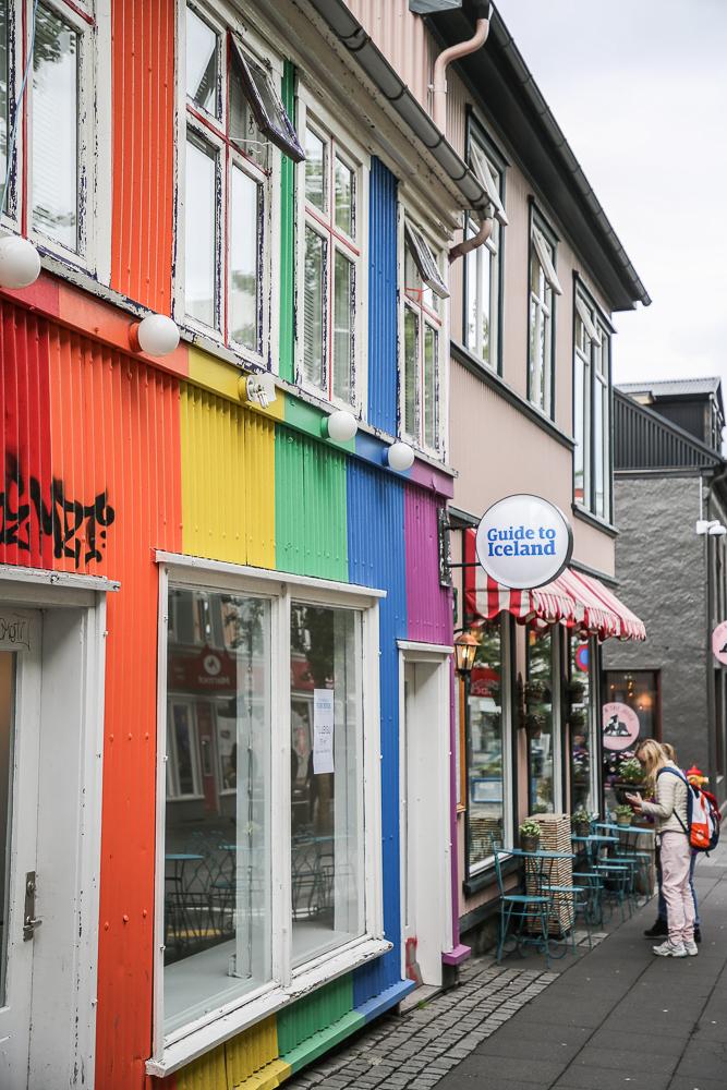 Reykjavik Innenstadt city