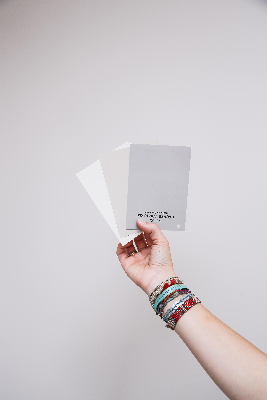 Alpina Feine Farben Farbkarten Elegante Gelassenheit Dächer Paris Zauber Wüste beige grau greige taupe