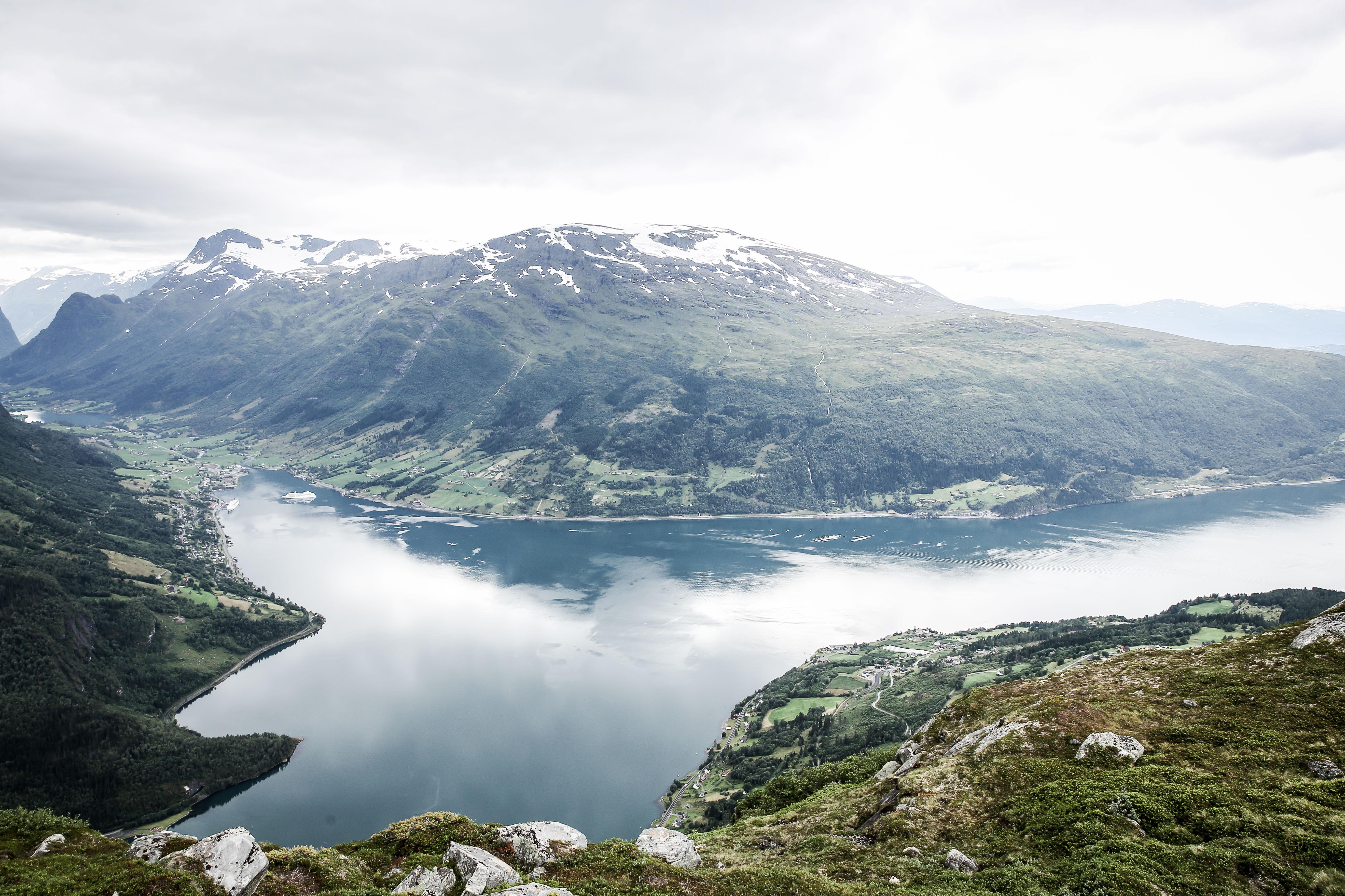 Loens Skylift Seilbahn Norwegen Fjord