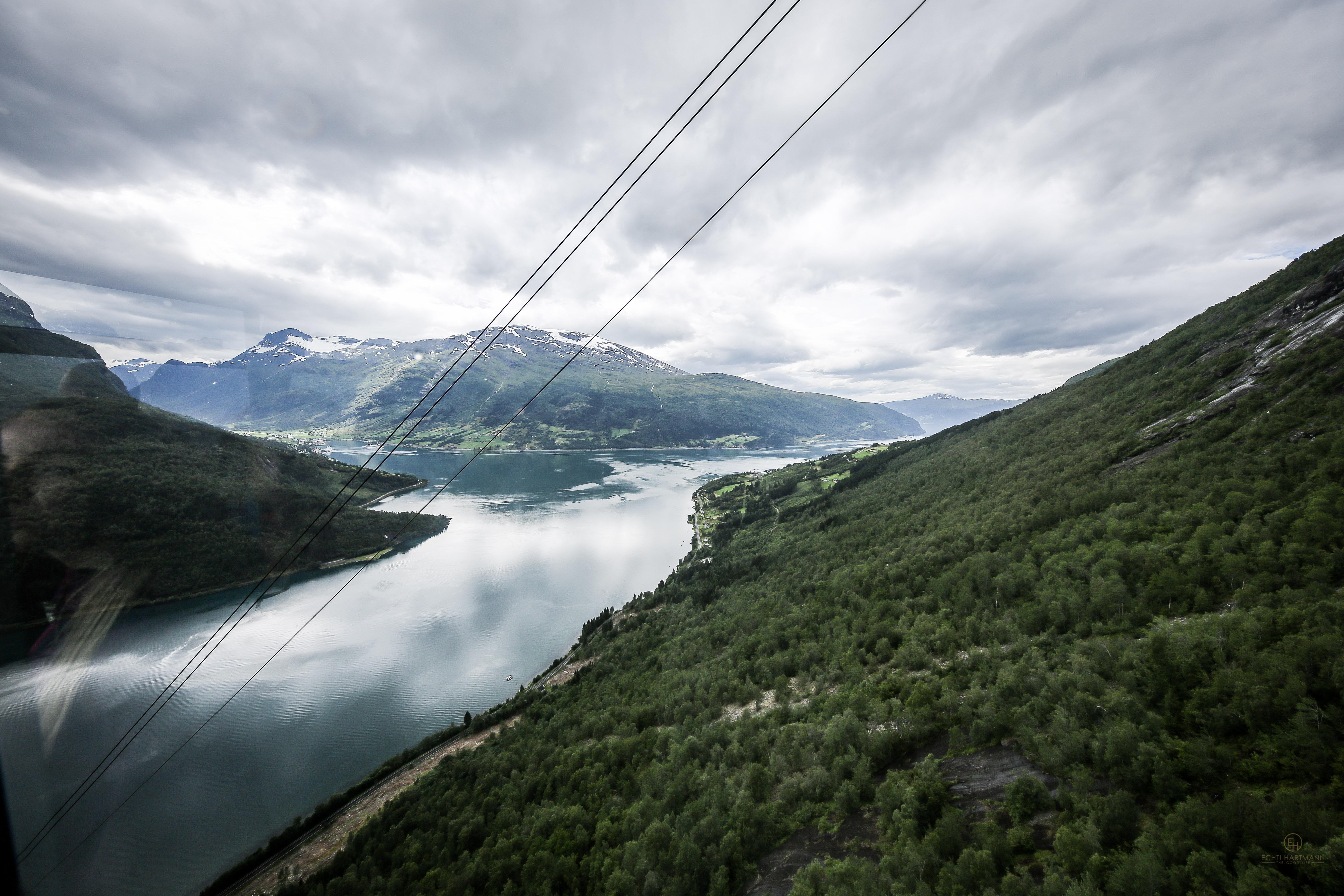Loens Skylift Seilbahn Norwegen