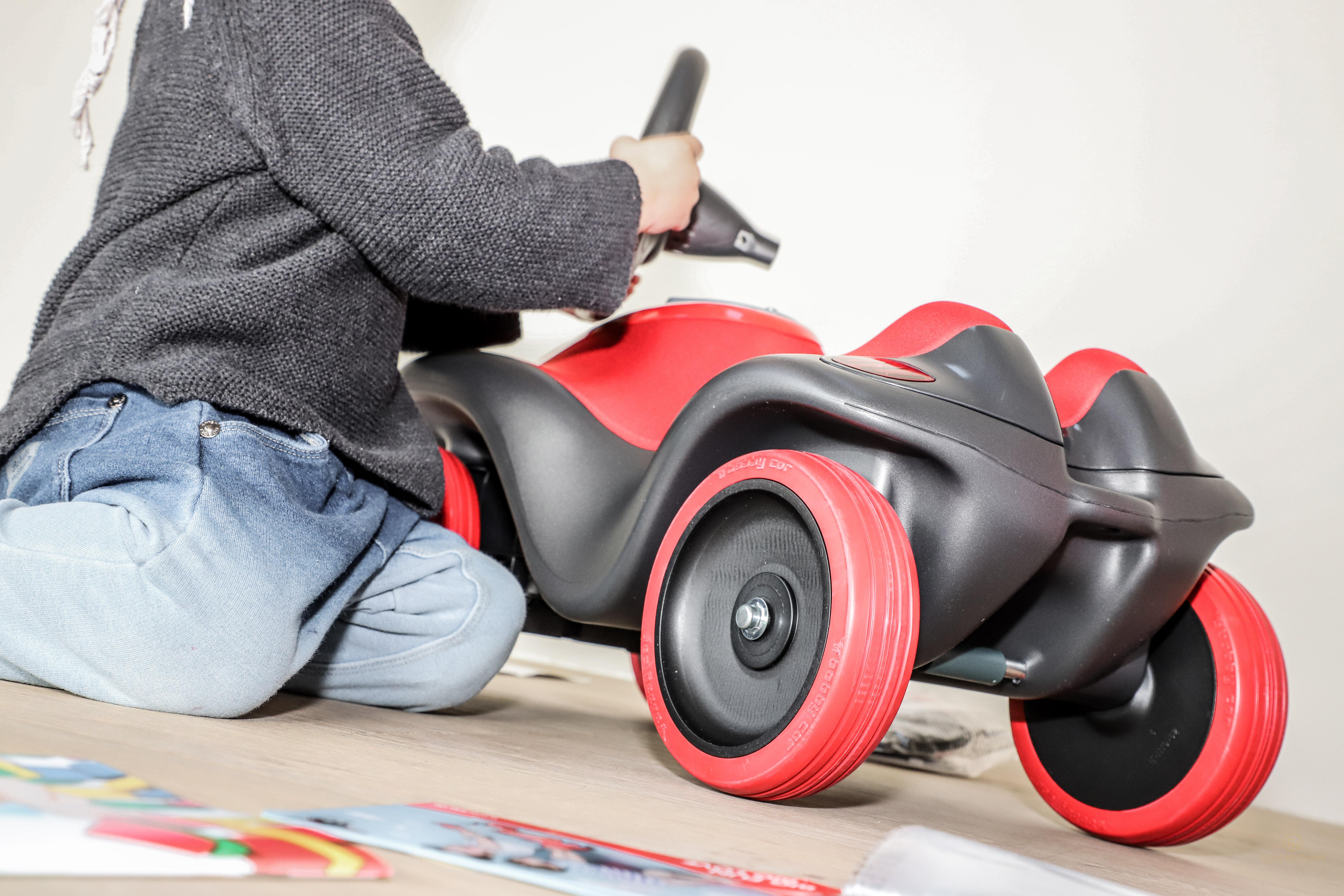 ein bobby car auf reisen der neue next von big echt hartmann. Black Bedroom Furniture Sets. Home Design Ideas