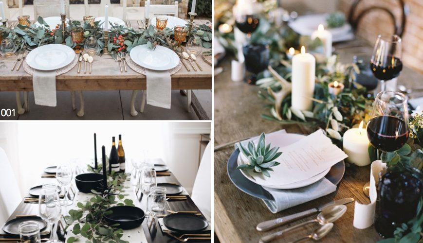 Deko Dekoration Weihnachten Tisch gedeckter festlich