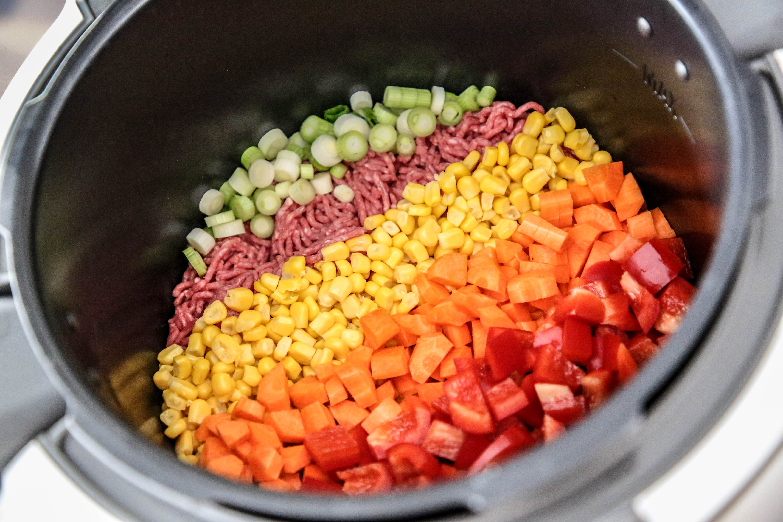 Rezept Chili con Carne Multikocher Krups Cook 4 me Slow Cooker Cooking