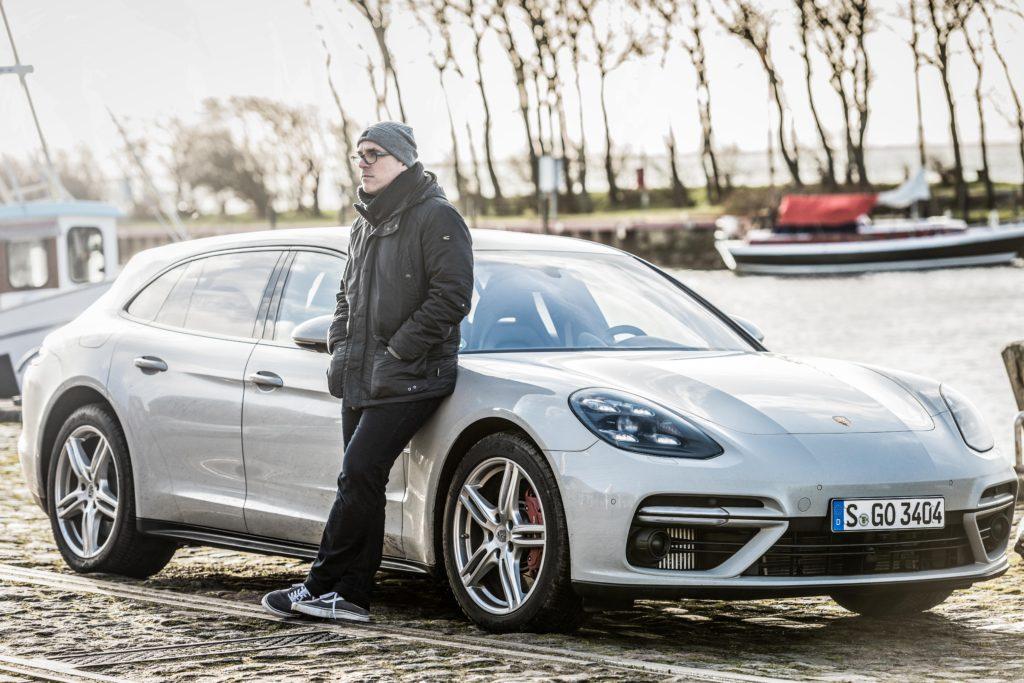 Kai Böses, Porsche Panamera Sport Turismo, 2017, Porsche AG