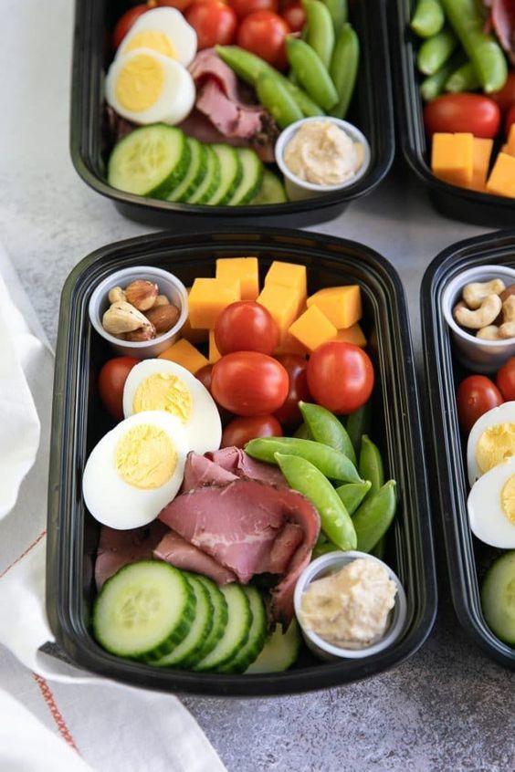gesunde Snacks unterwegs Gemüse